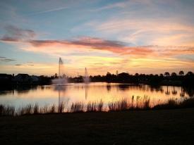 Bluffton SC sunset lagoon